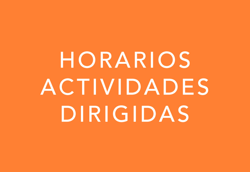 Alameda Centro Deportivo Horarios Actividades Dirigidas