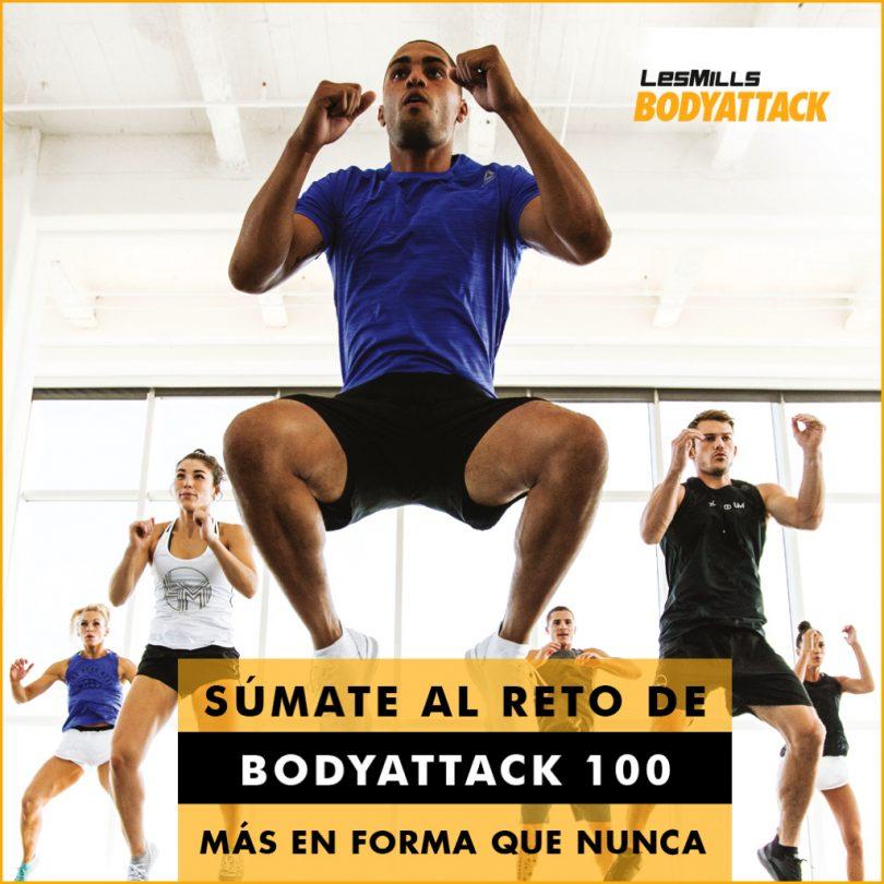 Nuevo reto BodyAttack 100!!
