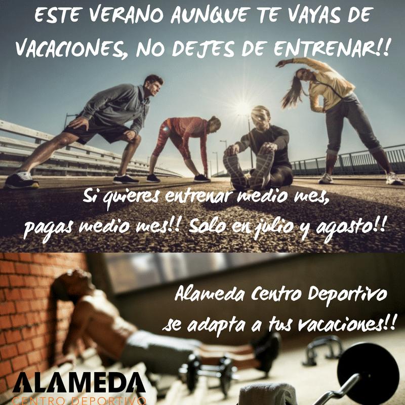 ESTE VERANO AUNQUE TE VAYAS DE VACACIONES, NO DEJES DE ENTRENAR!!